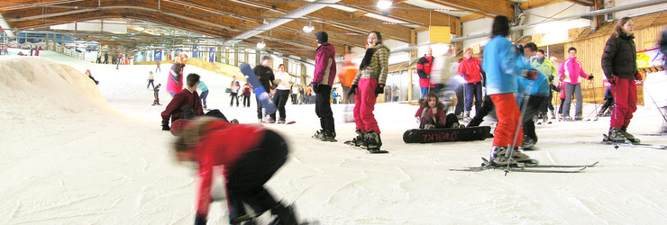 alpincenter Skihalle Piste